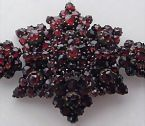 Lush garnets encrust this bracelet and they are so beautiful!