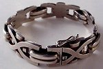 This is just the most glorious silver bracelet by Jensen!