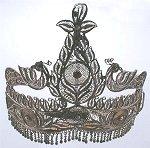 Here's a tiara designed for the princess bride!
